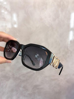 Wholesale sunglasses small square men resale online - The latest hot fashion designer sunglasses square small frame top quality UV protection lens with original box
