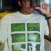 johnny camisetas venda por atacado-18FWChris Cunningham Borracha Johnny Esponja De Borracha T-Shirt de Manga Curta de Alta Moda Homens E Mulheres Da Moda Casal T-Shirt HFSSTX076