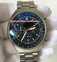 movimientos de cuarzo para relojes. al por mayor-Reloj de lujo de alta calidad 46 mm x 42 mm Mark II 327.10.43.50.06.001 Acero inoxidable VK Movimiento de cuarzo Cronógrafo Reloj para hombre de trabajo