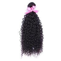 ingrosso estensioni dei capelli vergini di migliore vendita-8-28 pollici Best Selling Soft naturale alta qualità crespi crespi crespi capelli vergini capelli umani