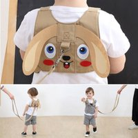 Wholesale baby walking belt assistant resale online - Traction Rope Protective Baby Outdoor Anti Lost Safety Harness Assistant Belt Walking Handle Children Leash Travel Adjustable