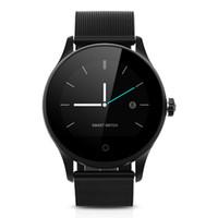 smartwatch hd toptan satış-K88H Akıllı İzle HD Ekran Kalp Hızı Monitörü Pedometre Spor Izci MTK2502C Android Smarthone Için Bağlı Erkekler Smartwatch