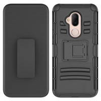 Wholesale fierce cases for sale – best Hybrid Full body Protective Case Cover with Kickstand Belt Clip Holster Combo for Alcatel7 Walters A30 Fierce Cover for ZTE Z981
