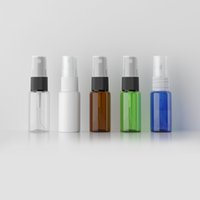 Wholesale colored perfume spray bottles for sale - Group buy 15ml Colored Small Perfume Sprayer Vial Sample Mist Spray plastic Bottle Refillable Perfumes Atomizer Container pc