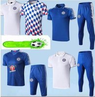 Wholesale football training kits resale online - 2019 kit soccer POLO shirt uniform best quality customize football shirts Dimen POLO training suit