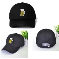 Wholesale drinking hat beer resale online - SAVE WATER DRINK BEER Snapback Cap Cotton Baseball Cap For Men Women Adjustable Hip Hop Dad Hat Bone Garros Dropshipping
