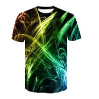 Wholesale beautiful clothing resale online - 2019 New Beautiful Flowers D Printing Men s Women s Black Summer T shirt Fast drying Street Clothing T shirt Top Fashion