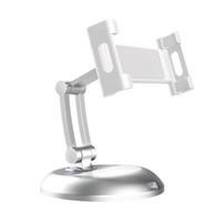 Solid Aluminium Alloy Adjustable Desktop Stand Holders for Tablets & Smartphones holders