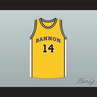 kriechpflanzen freies verschiffen groihandel-Deaundre Davis 14 Bannon High School Basketball Jersey Jeepers Creepers 2-1 Gewohnheit irgendein Name Alle Free Number Versand