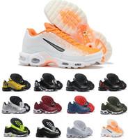 ingrosso scarpe da tennis ultra-Designer 2019 Fashion Mens Running Plus TN Scarpe di alta qualità Chaussures Air Tn Ultra SE nero bianco Basket Sneakers sportive