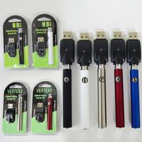 vapes à tension variable achat en gros de-Batterie de vape 510 fils de préchauffage vape Stylos de batterie 350mAh Tension variable 510 Cartouches de batterie Vertex E Cigarettes Vapes Piles
