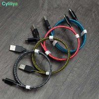 Wholesale types cell phone chargers for sale – best 1000pcs M M M Micro USB Braided Cable Charger Data Sync Star Yarn V A Quick Charging Type C Cables For Samsung Cell Phone