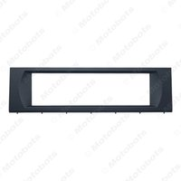 lámpara de panel blanco leds al por mayor-Car 1Din Radio Audio Fascia Frame Kit para Audi A4 CD / DVD Player Dash Plate Panel Instalación Trim Kit # 2362
