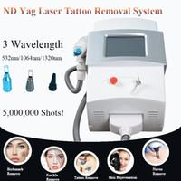 tatuagem acne venda por atacado-Q Comutado Nd Yag Laser Tattoo remover Remoção Da Acne Da Cicatriz Da Pigmentação Da Sobrancelha Remoção frete grátis