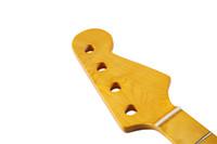 osso incrustado venda por atacado-20 Fret corda 4 P Bass Guitar Canadian Maple Neck com Abalone Shell Inlay and Bone Porca para Precision Bass p8