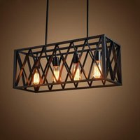 Wholesale pulley pendant lights for sale - Loft vintage pendant lights iron retro industrial Restaurant Bar Coffee Bedroom fixture Lighting Bar Kitchen lamp pulley light lamp