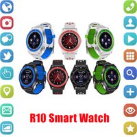 Wholesale new smart watch sale resale online - Hot Sale New R10 Smart Watch Bluetooth Smartwatch Support SIM Card Camera Pedometer Fitness Tracker Android Smart Watches SMS Reminder