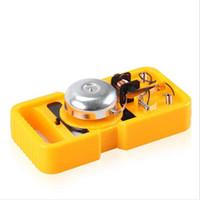materiais modelo diy venda por atacado-Adolescentes crianças crianças científico da ciência educacional DIY Bell Ring modelos experimentais brinquedo materiais experimento toy kid stem toy