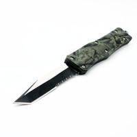 cuchillos camo cuchilla plegable al por mayor-A161 161 camo green 10 modelos blade doble acción táctica autodefensa plegable edc cuchillo camping cuchillo caza cuchillos regalo de navidad