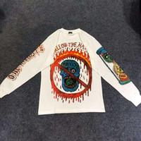 oğlan pamuklu hoodie toptan satış-Kanye West Sezon 6 Xxxtentacion Hoodies Erkek Kadın Streetwear Rapçi Eski Okul Koleksiyonu Pamuk Tişörtü Hip-Hop Hoodie