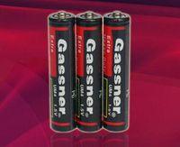 bateria de carbono de zinco venda por atacado-QUENTE!! 1200pcs acima, bateria seca do zinco do carbono de R03P UM4 1.5v para o dever pesado super de controle remoto, ISO9001