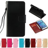 cell phone smart covers оптовых-Ретро PU Кошелек Чехол Для Huawei Honor 8 Смарт Индия Версия Откидная Крышка Чехол Kickstand Чехлы для Мобильных Телефонов с Карманом Карты