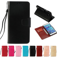 Wholesale leather smart phone wallet resale online - Retro PU Wallet Case For Huawei Honor Smart India Version Flip Cover Case Kickstand Cell Phone Cases with Card Pocket