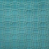 geometriegewebe großhandel-Mode Geometrie Geprägte Karos Jacquard Gewebtes Dekoratives Sofa Polstersessel Stickähnlicher Stoff Tischdecke 140 cm Verkauf in Metern