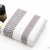 ingrosso spiaggia di vasca da bagno-Asciugamano da spiaggia in cotone morbido per asciugamani Asciugamano per spugna assorbente Asciugamano di base per donna