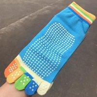 пальцевые носки оптовых-Стильные женские носки юношеский стиль носки пятипалый Meias противоскользящий носок воздухопроницаемый носок Hocoks девушки Soxs Chaussette #W