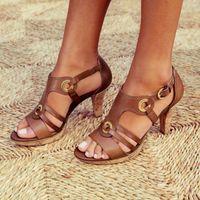 2020 Gladiators Sandals Rome Fashion Summer Women Wedges Shoes Woman Slides Peep Toe Solid Lady Cross Tied Sandals Shoe
