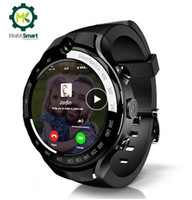 Wholesale smartwatch 5mp camera online – MOKA G Smart watch Men AMOLED screen Android MTK6739 MP Dual camera with GPS WiFi smartwatch For ios