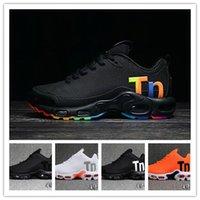 koşu için en iyi koşu ayakkabıları toptan satış-Mercurial TN Erkek Koşu Tasarımcı Ayakkabı 2019 Erkekler Rahat Hava Yastığı Açık Eğitmenler Süperstar İyi Yürüyüş Koşu Spor Sneakers 40-46