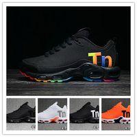 las mejores zapatillas para correr al por mayor-Mercurial TN Hombres Zapatos de diseñador para correr 2019 Hombres Amortiguador de aire informal Zapatillas de deporte al aire libre Superestrellas Las mejores zapatillas deportivas de senderismo 40-46
