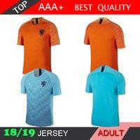 2018 19 Holland soccer jersey home orange netherlands national team JERSEY  memphis SNEIJDER 18 19 V.Persie Dutch football shirts AAA quality 0898466b4