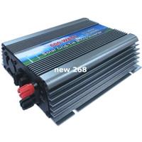 pv energieinverter großhandel-Freeshipping 600W auf Rasterfeld-Krawatten-Solarstrom-Inverter 10.5V ~ 28V DC zu AC110V oder 220V reiner Sinuswellen-Mikroinverter für 600 ~ 720W 18V PV-Modul