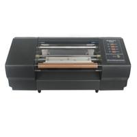 livros de revistas venda por atacado-NDL-330C Melhor escolha máquina de impressão de cartão comercial e hot stamping máquina para carimbar capa do livro ou revista