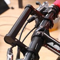 Wholesale light frame bikes resale online - Mountain Bike Aluminum Alloy Extension Frame Riding Extended Clip Bicycle Code Light Stand Adding Extra Storage Cycling Supplies