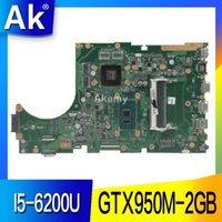 Wholesale laptop motherboards for asus for sale - AK X756UX MAIN_BD I5 U GTX950M GB Mainboard For Asus X756U X756UXM K756U X756UB laptop motherboard test ok