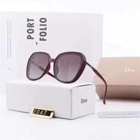 objektivflieger groihandel-Top-Qualität Polaroid Objektive Art und Weise Frauen-Mann-Sonnenbrille UV400 polarisierte Designer Driving Oval Sonnenbrillen Luxus Aviators Goggle mit dem Kasten