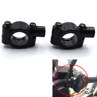 Wholesale yamaha adapters for sale - Group buy Universal Motorcycle quot Handlebar Rearview Mirror Holder Mount Adapter Clamp For Yamaha FZ6 FAZER FZ6R FZ8 MT07 FZ1 FAZER MT09