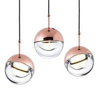acrylkugeln kronleuchter großhandel-Moderne led ball pendelleuchte küche acryl nordic schlafzimmer lampe kronleuchter neue b222