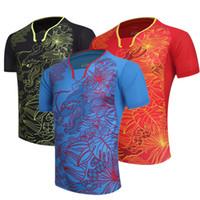 spor giyim toptan satış-DD Li-Ning Badminton Takım Erkek Kadın Çocuklar için Spor Kısa Kollu T-shirt Eğlence Koşu Basketbol gündelik giyim Masa tenisi LN3050