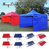Wholesale two door tents for sale - Group buy Canopy Side Wall Carport Garage Enclosure Shelter Tent Party Sun Wall Sunshade Cheap Tents Canopy Side Wall Carport Garage