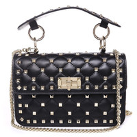 дизайнерские сумочки серый цветок оптовых-Высокое качество сумки конструктора класса люкс сумки кошелек Известные бренды сумки женские сумки Crossbody мешок Мода Vintage кожа плеча сумки