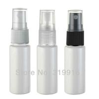 Wholesale spray bottles resale online - Miniature ml White Plastic Bottle With Mist Spray Pump cc Empty Perfume Sprayer Container Samll Sample Bottles pc