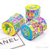 juguetes para matematicas al por mayor-Nuevos Magic Cubes juguetes educativos para niños Niños Matemáticas números digitales Magic Cube Toy Puzzle Game Gift