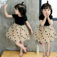 mädchen fringe kleidung großhandel-Kinder Designer Kleidung Mädchen Kleider Glitter Gold Wild One Quasten Kleider für Babys White Fringe Dress Boutique Mädchen Kleidung