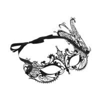 полумаска бабочка оптовых-Festnight Luxury Butterfly Design Серебро с лазерной резкой и полумасками со стразами Маскарадная маска для Хэллоуина