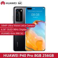 Wholesale super wifi camera resale online - Original HUAWEI P40 Pro G GB GB Kirin Smartphone MP Quad Cameras Hz Screen W Super Charge